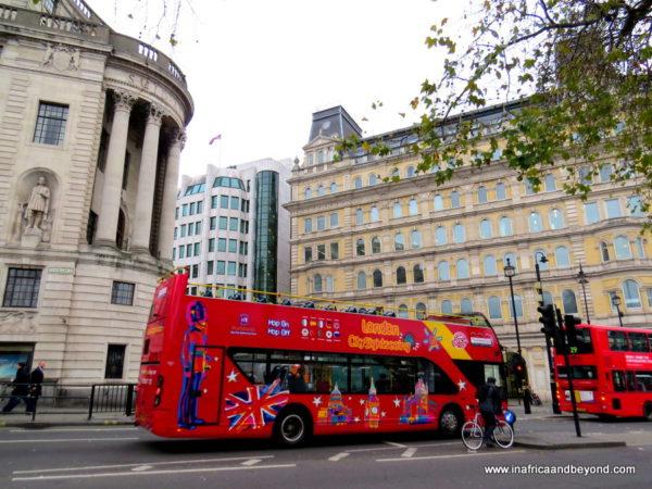 The Original London Sightseeing Tour bus