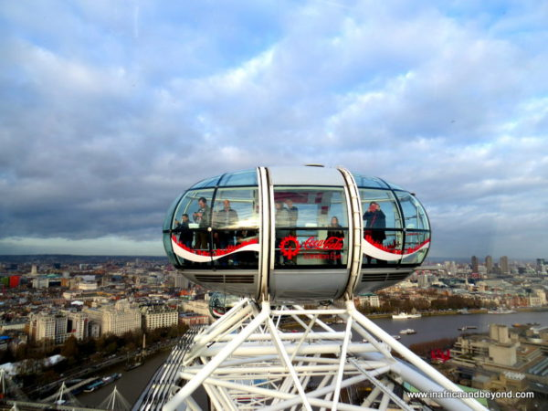 London Eye Observation Capsule - Things to do in London with kids