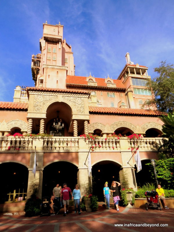 Hollywood Tower Hotel Walt Disney World