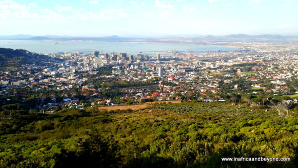 Cape Town - view from Table Mountain - Photos of South Africa