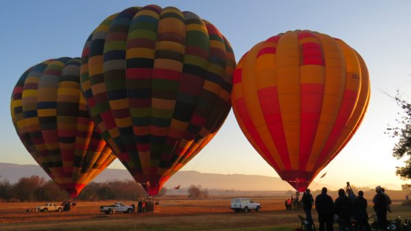 Hot air balloons South Africa
