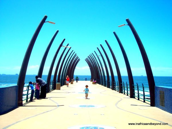 Umhlanga Whale Bone Pier - Photos of South Africa