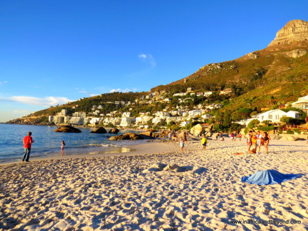 Camps Bay beach - Photos of South Africa