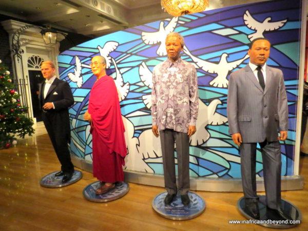 Madiba at Madame Tussauds