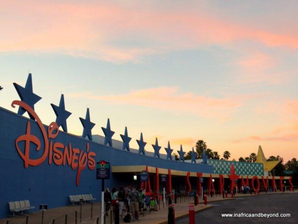 Walt Disney All-Star Movies resort exterior - Disney vacation