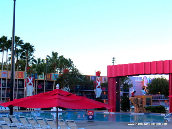 Swimming pool at Disney's All-Star Movies Resort