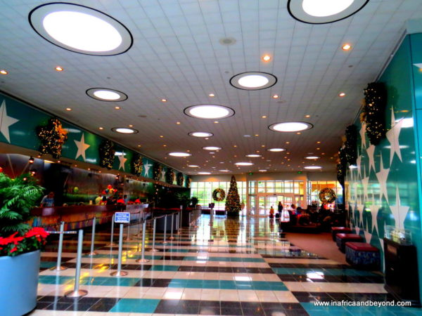 Reception area Disney All Star Movie Resort