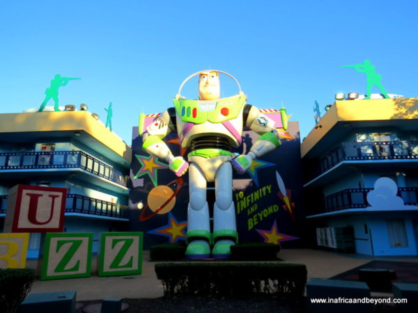 Toy Story section - Disney All-Star Movies Resort