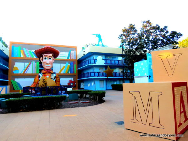 Woody from Toy Story - Disney All Star Movies Resort