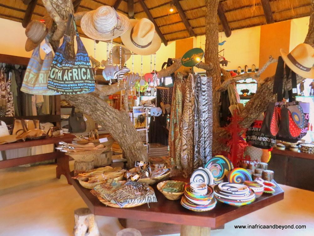 Sabi Sabi Bush Lodge shop