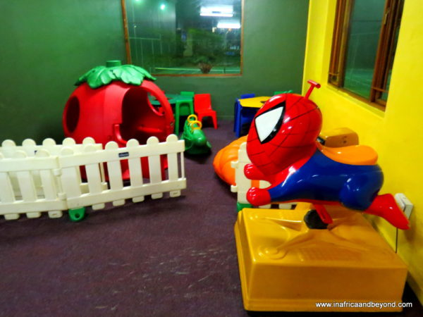 Crystal Springs Indoor play area