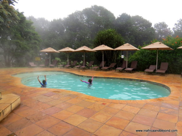 Crystal Springs heated Swimming pool
