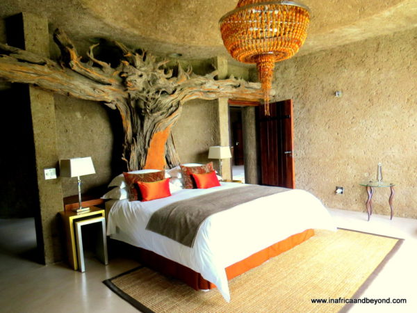 Presidential Suite at Sabi Sabi's Earth Lodge