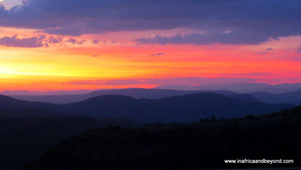 Sunset at Crystal Springs - photos of Mpumalanga