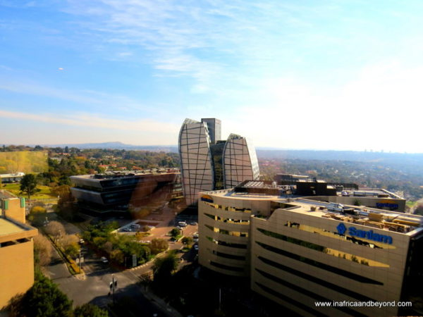Sandton Sun view of skyline