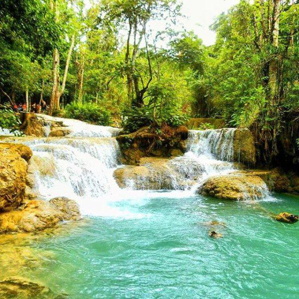 Kwang Si Falls - Vicki Garside