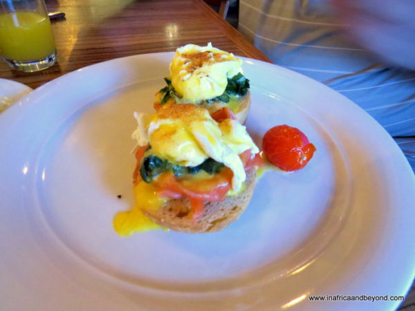 Eggs Royale Sandton Sun