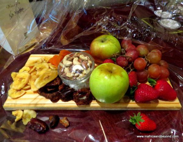 Kwa Maritane Fruit platter