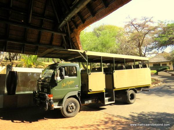 Kwa Maritane game vehicle
