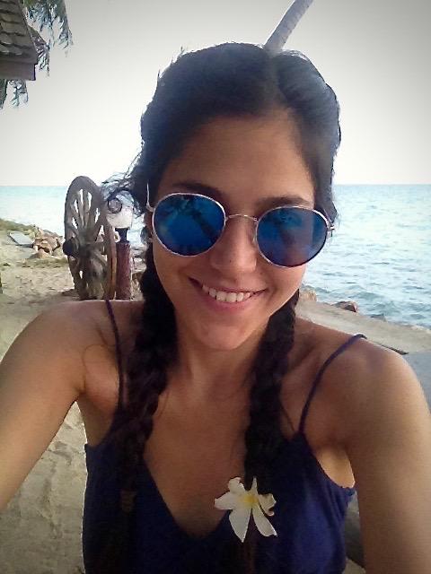 Kristina in Thailand