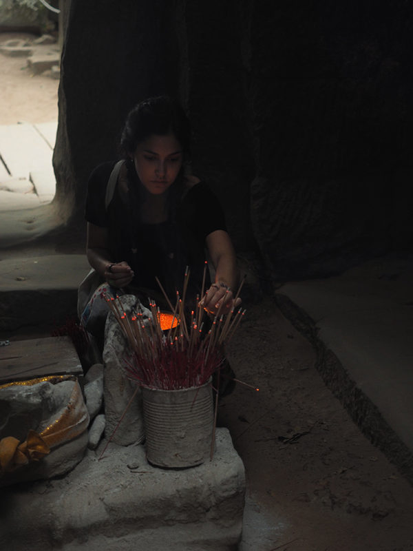 Kristina in Cambodia