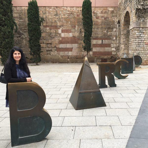 Anisa in Barcelona