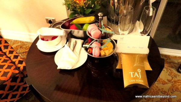 Bedtime treats Taj Cape Town