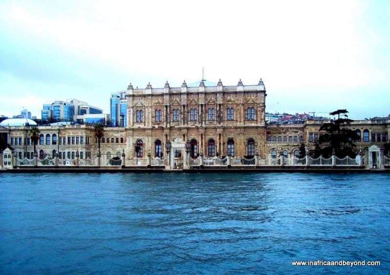 Dolmahbahce Palace from Bosphorus