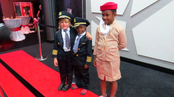 Emirates Airways kids