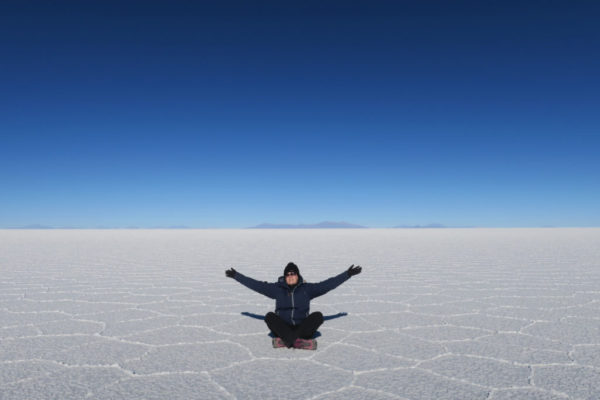Salt Flats in Bolivia Naomi