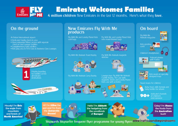 Emirates Airways Family Offering