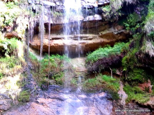 Waterfall in Oribi Gorge