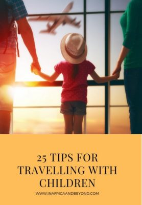 Tips for travelling with children