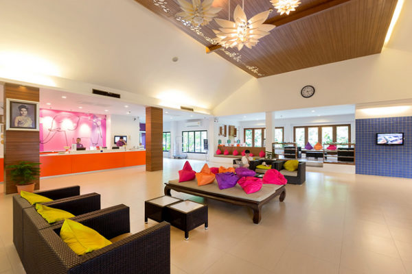 Reception area Sunwing Kamala Beach Resort