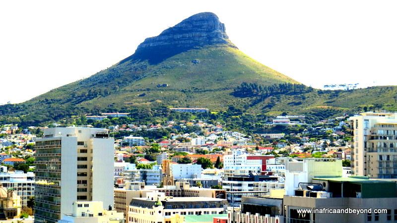 around Cape Town