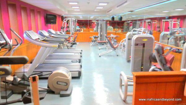 Crowne Plaza Bangkok Lumpini Park gym