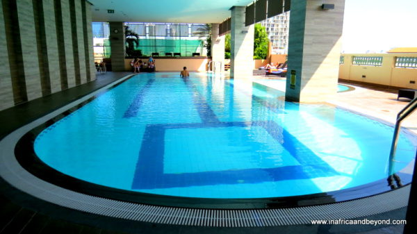 Swimming Pool at Somerset Park Suanplu