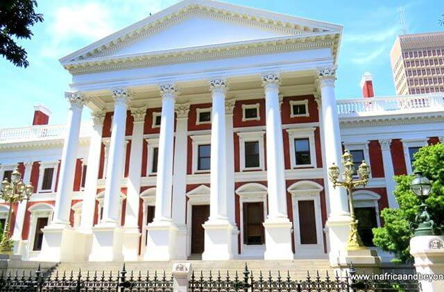 House of Parliament CapeTown where it was all happening yesterdayhellip