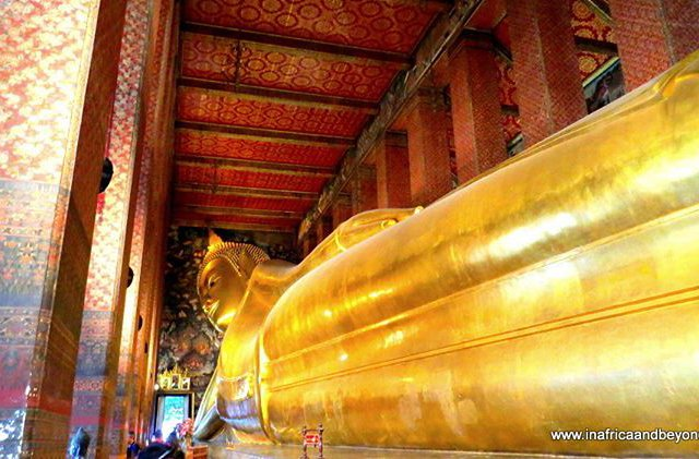 The Wat Pho or Temple of the Reclining Buddha ishellip