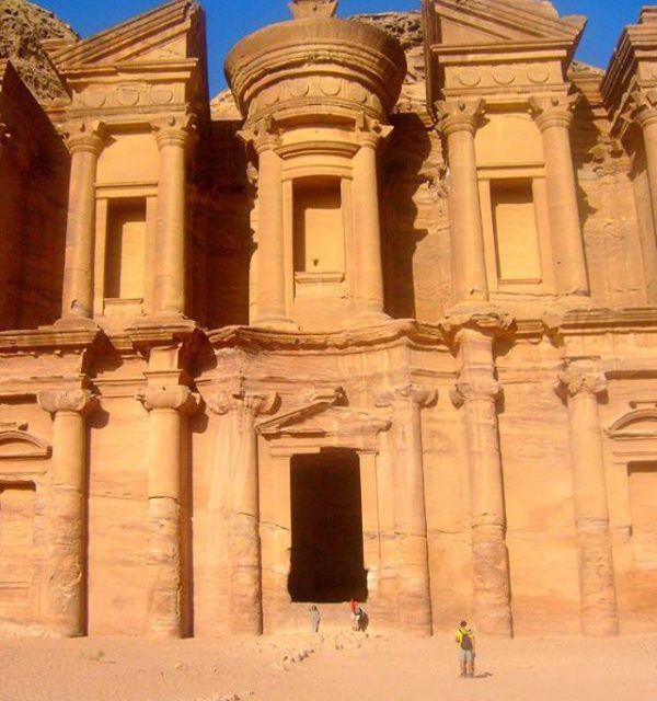 The Monastery at Petra Jordan I had to climb overhellip