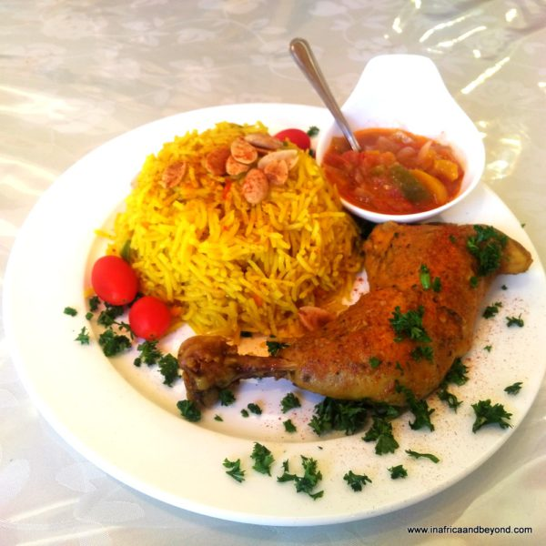 Jasmine Restaurant - Chicken Kabsaa