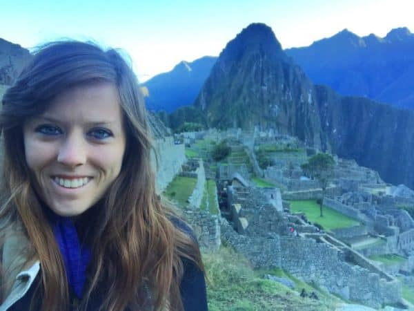 traveling teacher Meghan Sara Essop