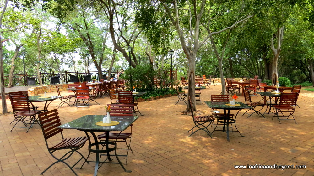 Mount Grace outdoors restaurant