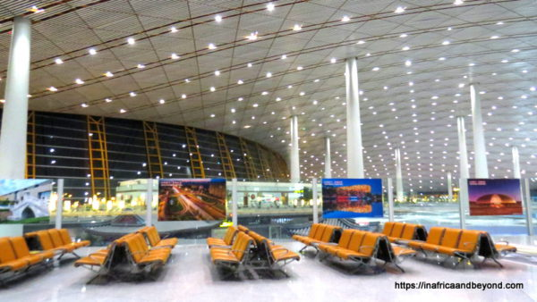 Air China review Beijing airport