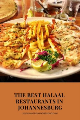 Best halaal restaurants in Johannesburg