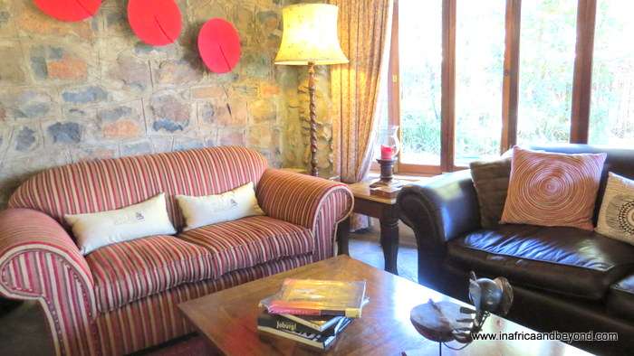 Idwala Boutique Hotel lounge