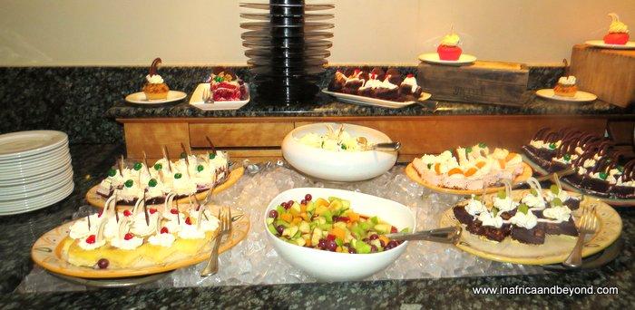Avani Lesotho Hotel food