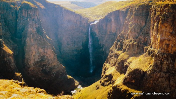 Road trip to Lesotho Maletsunyane Falls