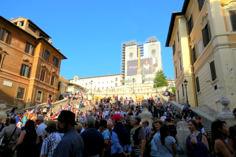 Spanish Steps Travel Problems