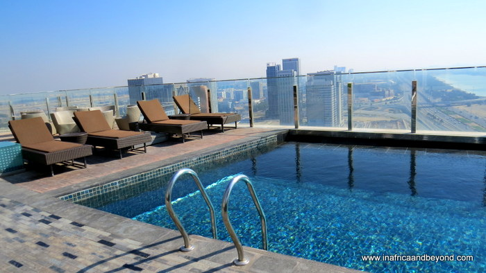 Hyatt Capital Gate swimming pool